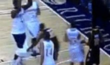 VCU Player De-Pantsed Drexel Player During CAA Championship Game (GIF)