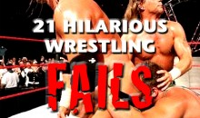21 Hilarious Wrestling Fails (GIFs)