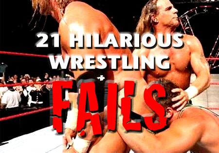 wrestling fails