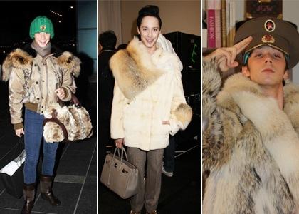 #1 johnny weir fur coat lover