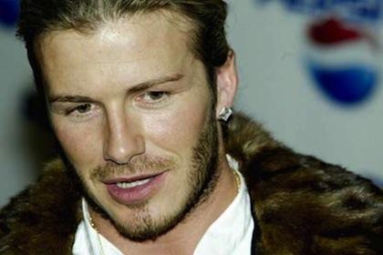 #10 david beckham fur coat