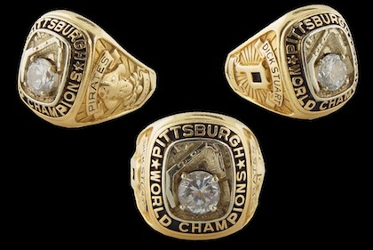#11 1960 pittsburgh world series ring