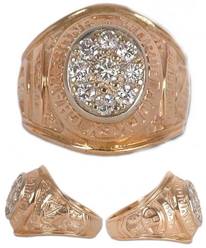#11 montreal canadiens 1966 stanley cup championship ring