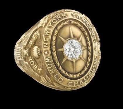 #14 1927 yankees world series ring