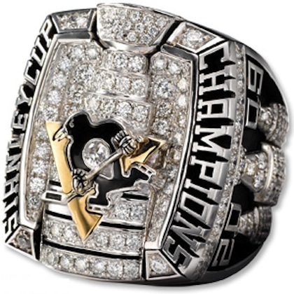 #2 pittsburgh penguins 2009 stanley cup championship ring