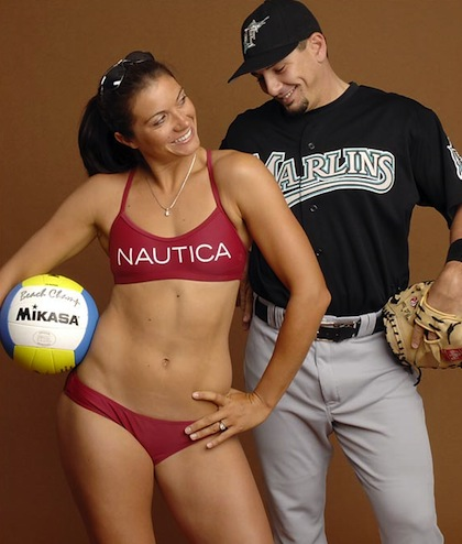 misty may treanor (matt treanor - Dodgers)