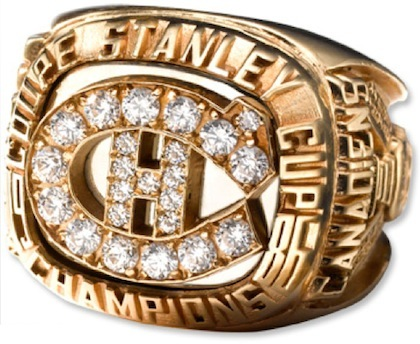 #5 montreal canadiens 1986 stanley cup championship ring