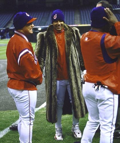 #9 manny ramirez fur coat