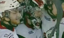 IceDogs Goalie Mark Visentin Scored A Goal Last Night (Video)