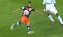 Montpellier's Younes Belhanda Scored This Incredible Goal Against Marseille Yesterday (Video)