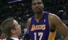 "Andrew Bynum Grabbed 30 Rebounds Because He ""Shot Like Sh*t"" (Video)"