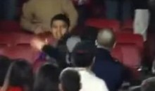 A Fan Fight From Saturday's El Clasico (Video)