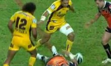 NRL Suspends Ben Te'o For Hit That Knocked Out Matt Groat (Video)