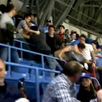 blue jays home opener fight