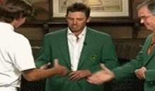 Here's Bubba Watson's Awkward Masters Handshake (GIF)