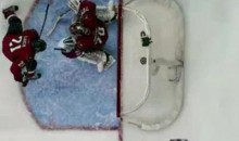 A Frozen Clock In Washington Forced Braden Holtby To Make This Incredible Extra Save (Video)