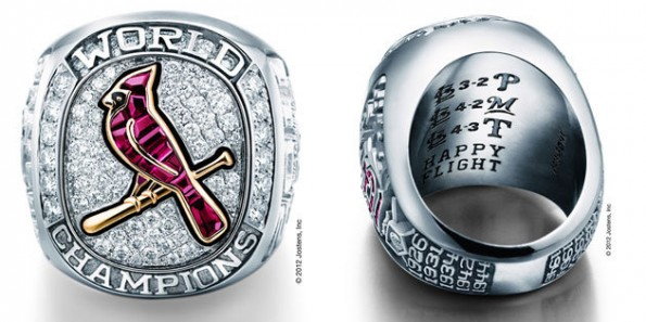 cardinals world series ring