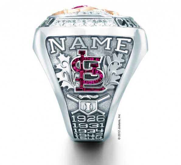 cardinals world series ring squirrel