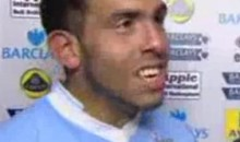 Carlos Tevez Conducts The Shortest Interview Ever (Video)