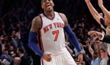 Stat Line Of The Night — 4/8/12 — Carmelo Anthony