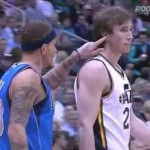 delonte west wet willy gordon hayward