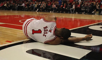 derrick rose injury chicago bulls