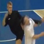 futsal kick face