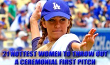 21 Hottest Women To Throw Out A Ceremonial First Pitch