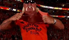 Hulk Hogan Revs The Flyers Fans Up For Game 3 (Video)