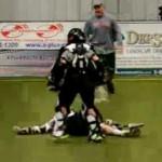lacrosse goalie check