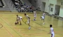 Long-Snap Alley-Oop Executed On First Play Of Iowa High School Basketball Game (Video)