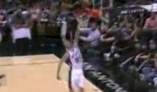 Manu Ginobili Misses A Wide Open Dunk (Video)