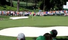 Martin Kaymer Skips A Ball Over The Water For Hole-In-One At Masters Practice Round (Video)
