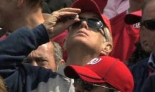 Nats Fan Attempts To Apply Eye Drops Through Sungalsses (Video)