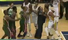 Things Got Physical Between The Bucks And The Pacers Last Night (Video)