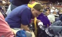 Padres Fan Puking Sums Up The San Diego Pardes' Season Thus Far (Video)