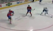 Habs' Goalie Peter Budaj Assists On Opposing Team's Goal (Video)
