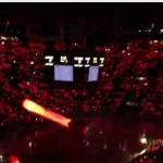red wings light show