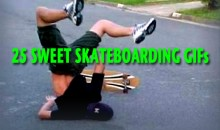 25 Sweet Skateboarding GIFs