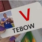 tim tebow v-card