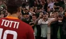 Francesco Totti Confronts The Angry Roma Fans (Video)