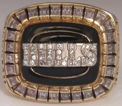 #10 chicago bulls 1992 nba championship ring