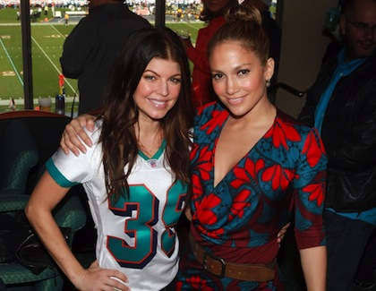 #11 fergie and j-lo miami dolphins owners