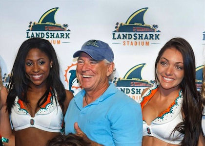 #11 jimmy buffet miami dolphins owner