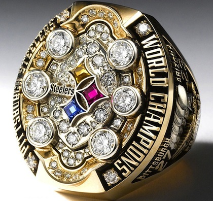 #11 pittsburgh steelers 2009 super bowl XLIII chamionship ring