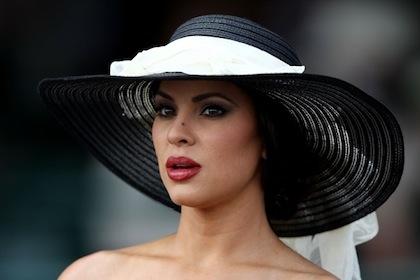 #12 beautiful woman at 2012 kentucky derby