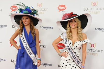 #13 miss teen kentucky on the red carpet at 2012 kentucky derby