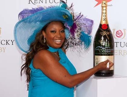 star jones 2012 kentucky derby stupid hat