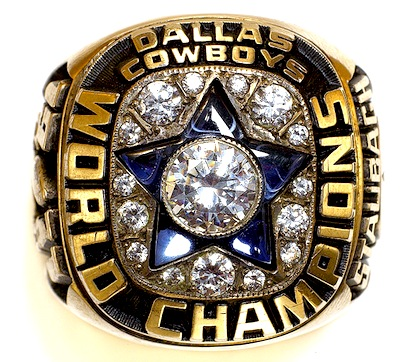 #14 dallas cowboys 1972 super bowl vi championship ring