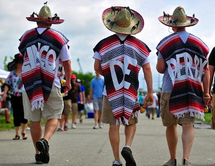 #18 crazy weird funny stupid 2012 kentucky derby hats cinco de derby sombreros